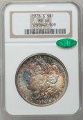 Morgan Dollars: , 1878-S $1 MS66 NGC. CAC. NGC Census: (479/27). PCGS Population(580/21). Mintage: 9,774,000. Numismedia Wsl. Price for prob...