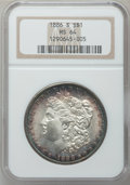 Morgan Dollars: , 1886-S $1 MS64 NGC. NGC Census: (716/129). PCGS Population(1223/308). Mintage: 750,000. Numismedia Wsl. Price for problem ...