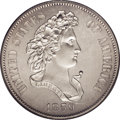 Patterns: , 1859 P50C Half Dollar, Judd-241, Pollock-297, R.4, PR63 PCGS. The Longacre Liberty Head design for the half dollar, also kn...