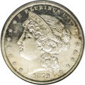 Patterns: , 1879 $1 Metric Dollar, Judd-1617, Pollock-1813, R.4, PR64 CameoPCGS. This is a splendid Came...