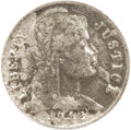 1942 P1C Pattern Cent, Judd-2053, Pollock-Unlisted, R.8--Environmental Damage--NCS. AU Details. A large bust of Liberty...
