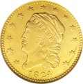 Early Quarter Eagles: , 1824/1 $2 1/2 --Scratched, Cleaned--ANACS. AU Details, Net XF40.Bass-3019, Breen-6127, R.4, the only die pairing for the ye...