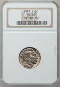 Buffalo Nickels: , 1929-S 5C MS65 NGC. NGC Census: (190/51). PCGS Population(491/178). Mintage: 7,754,000. Numismedia Wsl. Price for problem...