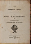 Books:Maps & Atlases, [Atlas]. A New General Atlas Chiefly Intended for the Use ofSchools and Private Libraries. J. V. Seaman, 1825. Quar...
