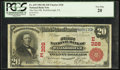 National Bank Notes:Pennsylvania, Wellsborough, PA - $20 1902 Red Seal Fr. 639 The First NB Ch. # (E)328. ...