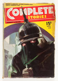 Pulps:Adventure, Complete Stories: August '36 (Street & Smith, 1936) Condition: VG....