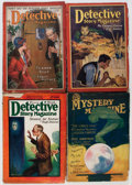 Pulps:Detective, Detective Story Magazine and Other Crime Pulps Group (Various, 1926-29) Condition: Average VG-.... (Total: 6 Items)
