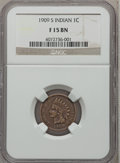 Indian Cents: , 1909-S 1C Fine 15 NGC. NGC Census: (146/1468). PCGS Population(292/2359). Mintage: 309,000. Numismedia Wsl. Price for prob...