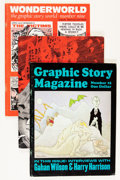Magazines:Fanzine, Graphic Story Magazine and Related Group (Bill Spicer/Richard Kyle, 1971-73).... (Total: 5 Items)