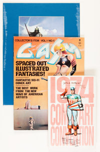 Fanzine and Comic Related Publication Group (Various, 1970s).... (Total: 8 Items)