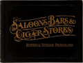 Books:Photography, [Photography]. Roger E. Kislingbury. Saloons, Bars, Cigar Stores. Pasadena: Waldo and Van Winkle, [1999]. First ...