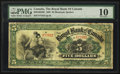 Canadian Currency: , Montreal, PQ- The Royal Bank of Canada $5 Jan. 2, 1909 Ch. #630-10-04-06. ...