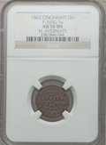 Civil War Merchants, 1862 H. Avermatt, Cincinnati, OH., AU50 NGC. Fuld-OH165G-1a....