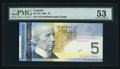 Canadian Currency: , BC-62a $5 2001. ...