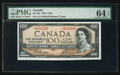 Canadian Currency: , BC-43a $100 1954. ...