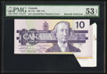 Canadian Currency: , Butterfly Fold Error BC-57a $10 1989. ...