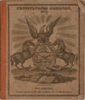 Books:Americana & American History, [Almanac]. Pennsylvania Almanac, 1832. Philadelphia: M'Carty& Davis, 1832 [probably 1831]. Small quarto pamphle...