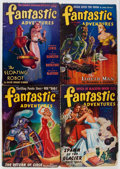 Pulps:Science Fiction, Fantastic Adventures Box Lot (Ziff-Davis, 1939-42) Condition:Average VG+....