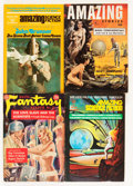 Pulps:Science Fiction, Assorted Digest-Format Science Fiction Pulps Box Lot (MiscellaneousPublishers, 1950s-'70s) Condition: Average FN....