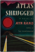Books:Literature 1900-up, Ayn Rand. Atlas Shrugged. New York: Random House, [1957].First edition, first printing (correct price and 10/57 o...