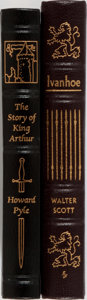 Books:Fine Bindings & Library Sets, [Easton Press]. Two Titles: Ivanhoe; The Story of King Arthur and His Knights. Norwalk: Easton Press, [n.d.]. Pu... (Total: 2 Items)