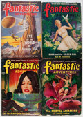 Pulps:Science Fiction, Fantastic Adventures Box Lot (Ziff-Davis, 1942-52) Condition:Average VG/FN....