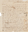 Autographs:U.S. Presidents, [Battle of New Orleans]. Andrew Jackson Autograph Letter Signed....