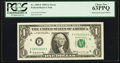 Error Notes:Mismatched Serial Numbers, Fr. 1903-F $1 1969 Federal Reserve Note. PCGS Choice New 63PPQ.. ...