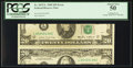 Error Notes:Major Errors, Fr. 2075-L $20 1985 Federal Reserve Note. PCGS About New 50.. ...