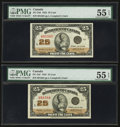 Canadian Currency: , DC-24d 25¢ 1923 Two Consecutive Examples. . ... (Total: 2 notes)