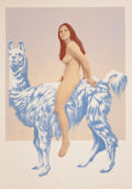 Prints:Contemporary, MEL RAMOS (American, b. 1935). Llama Mama, 1970. Lithographin colors. 26-1/2 x 19-1/4 inches (67.3 x 48.9 cm). Ed. 26/3...