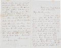 Autographs:Military Figures, [Battle of Antietam]. Thomas H. Ruger Autograph Letter Signed...