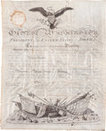 Autographs:U.S. Presidents, George Washington Military Appointment Signed...