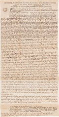 Autographs:U.S. Presidents, John Adams Legal Document Twice Signed,... (Total: 2 Items)