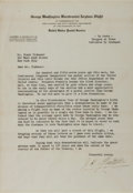 Autographs:Military Figures, James H. Doolittle Typed Letter Signed. ...