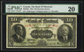 Canadian Currency: , Montreal, PQ - The Bank of Montreal $10 Jan. 2, 1923 Ch. #505-56-04. ...