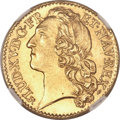 France, France: Louis XV gold Louis d'Or 1741-B,...