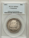 Commemorative Silver: , 1892 50C Columbian MS64 PCGS. PCGS Population (1725/916). NGCCensus: (1757/1052). Mintage: 950,000. Numismedia Wsl. Price ...