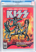 Magazines:Miscellaneous, Marvel Comics Super Special #1 KISS (Marvel, 1977) CGC VF+ 8.5White pages....