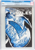 Modern Age (1980-Present):Humor, Teenage Mutant Ninja Turtles #2 (Mirage Studios, 1984) CGC NM+ 9.6Off-white to white pages....