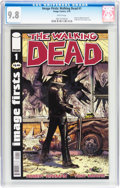 Modern Age (1980-Present):Horror, Image Firsts: Walking Dead #1 (Image, 2010) CGC NM/MT 9.8 Whitepages....