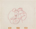 Animation Art:Production Drawing, Sleeping Beauty Production Drawing Animation Art (Disney,1959)....