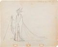 Animation Art:Production Drawing, Sleeping Beauty Maleficent Production Drawing Animation Art(Disney, 1959)....