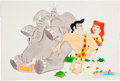 Animation Art:Limited Edition Cel, Ron Campbell George of the Jungle Illustration Original Art(undated)....