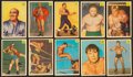 Miscellaneous Collectibles:General, 1955-56 Parkhurst Wrestling Partial Set (94/121). ...