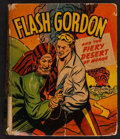 """Movie Posters:Serial, Flash Gordon and the Fiery Desert of Mongo (Whitman Publishing Co., 1948). Better Little Book (286 Pages, 3.5"""" X 4.5""""). Scie..."""