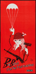 "Movie Posters:Comedy, Babette Goes to War (Columbia, 1959). French Poster (15"" X 31""). Comedy.. ..."