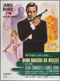"Movie Posters:James Bond, From Russia with Love (United Artists, R-1980s). French Grande (47""X 63""). James Bond.. ..."