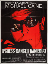 """The Ipcress File (Universal, 1965). French Grande (47"""" X 63""""). Thriller"""