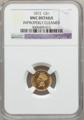 Gold Dollars: , 1872 G$1 -- Improperly Cleaned -- NGC Details. Unc. NGC Census:(4/33). PCGS Population (1/53). Mintage: 3,500. Numismedia ...